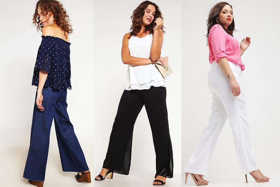 93a1f24ef3ae62 Spodnie dla puszystych - jaki fason wybrać? [Moda plus size]