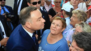 Spotkanie z Andrzejem Dudą w Strzelinie