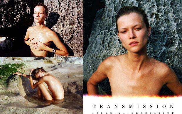 Naga Kasia Struss w magazynie Transmission - kontrowersyjna?