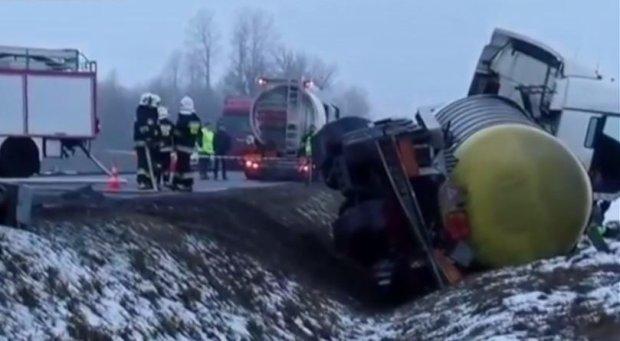 Zarzuty dla kierowcy cysterny, sprawcy sobotniego śmiertelnego wypadku pod Grajewem