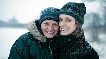 Marzena Frąckowiak i Dorota Walicka