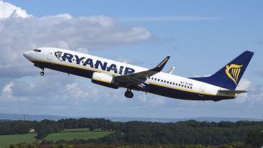 Boeing 737-800 w barwach Ryanair