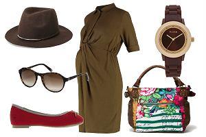Ciążowe sukienki na jesień - zobacz modne stylizacje