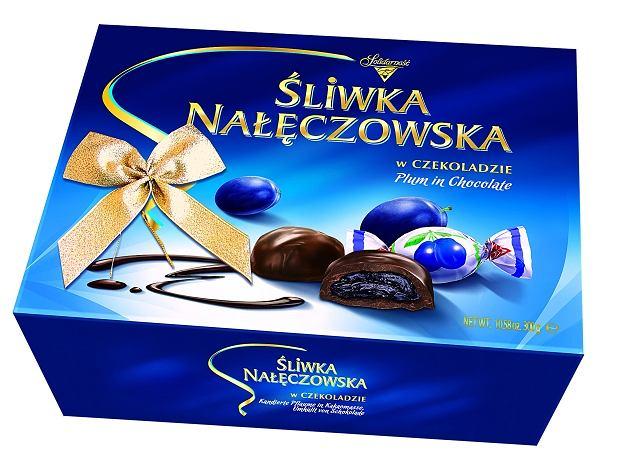Śliwka Nałęczowska - bombonierka 300 g