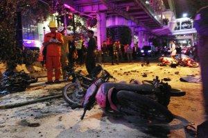 """Wybuch w centrum Bangkoku. """"To bomba"""". Chaos, s� zabici i ranni. Zgin�li te� obcokrajowcy"""