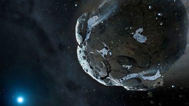 Ziemi� w�a�nie min�a pot�na asteroida - znowu nam si� uda�o. Ale kiedy�...