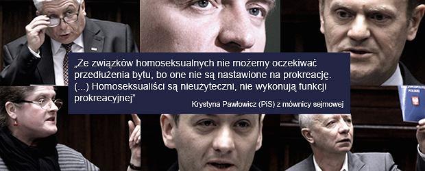 Zwi�zki partnerskie - dzie� w Sejmie
