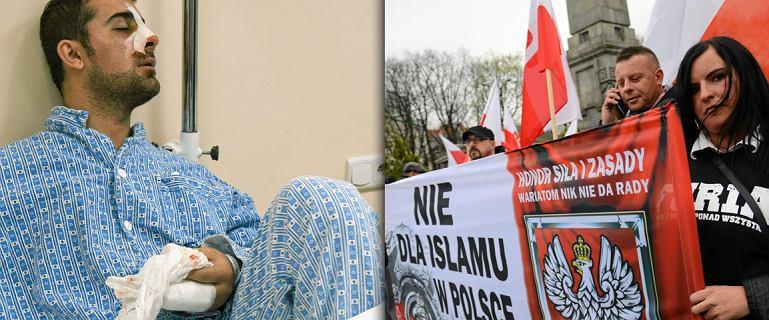 """Zwyzywany Palesty�czyk, pobity Chilijczyk, Portugalczycy z ochron�. """"Fala rasistowskiej agresji"""""""