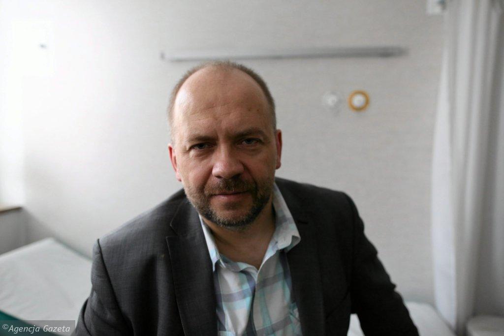 Dr Marek Bachański, neurolog, który podawał leki na bazie medycznej marihuany dzieciom z ciężką postacią padaczki