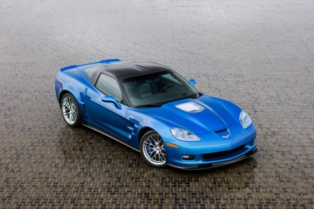 Chevrolet Corvette ZR1 | Niebieski Diabe� odbudowany