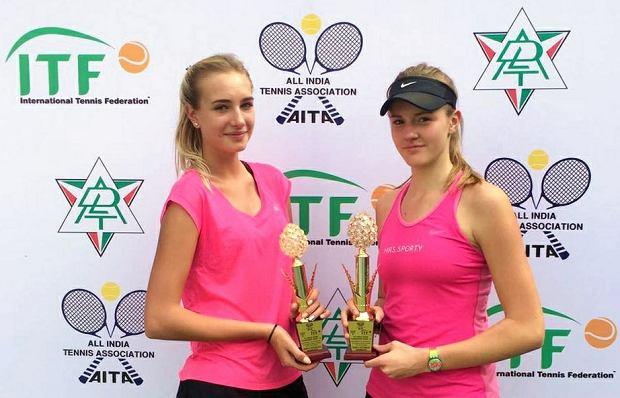 Wiktoria Rutkowska i Martyna Kubka