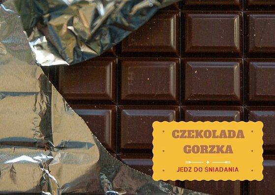 Gorzka czekolada zawiera antyoksydanty, które pomagają zachować dłużej młodość