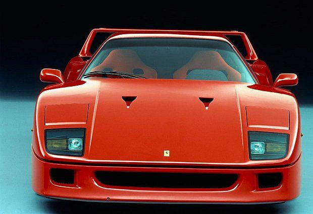 F40 bazuje na modelu GTO Evoluzione (wyczynowa wersja 288 GTO)