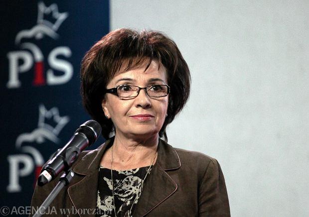 Elżbieta Witek - rzecznik prasowy PiS