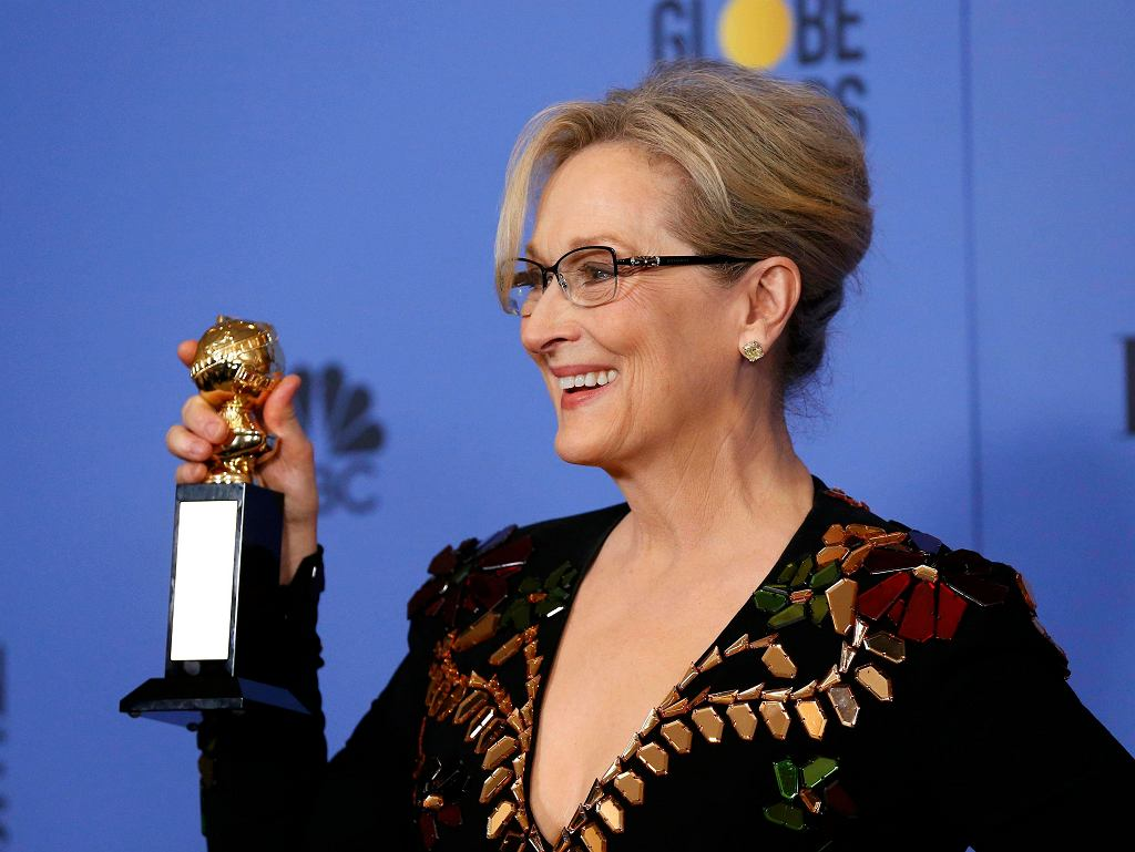 Meryl Streep z Nagroda Cecila B. DeMille'a na ceremonii Złotych Globów, 8 stycznia 2017 / MARIO ANZUONI / REUTERS / REUTERS