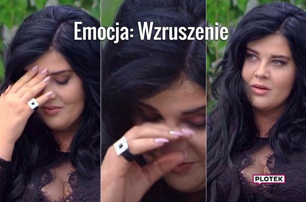 'Wzruszona' Ewa Zakrzewska