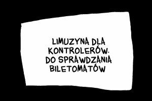 Limuzyna dla kontrolerów. Do sprawdzania biletomatów - Misie 2014, Plebiscyt na absurd roku.