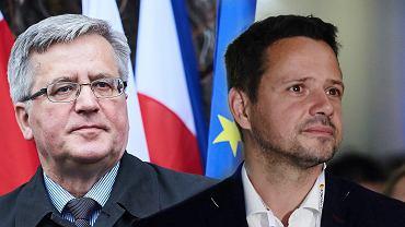 Bronisław Komorowski i Rafał Trzaskowski