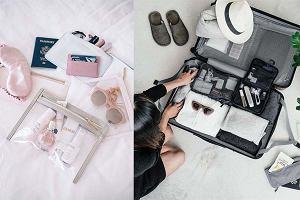Jak się spakować, by mieć porządek w bagażu? Te kosmetyczki i organizery ułatwią ci pakowanie