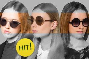 Okrągłe okulary - stylista poleca