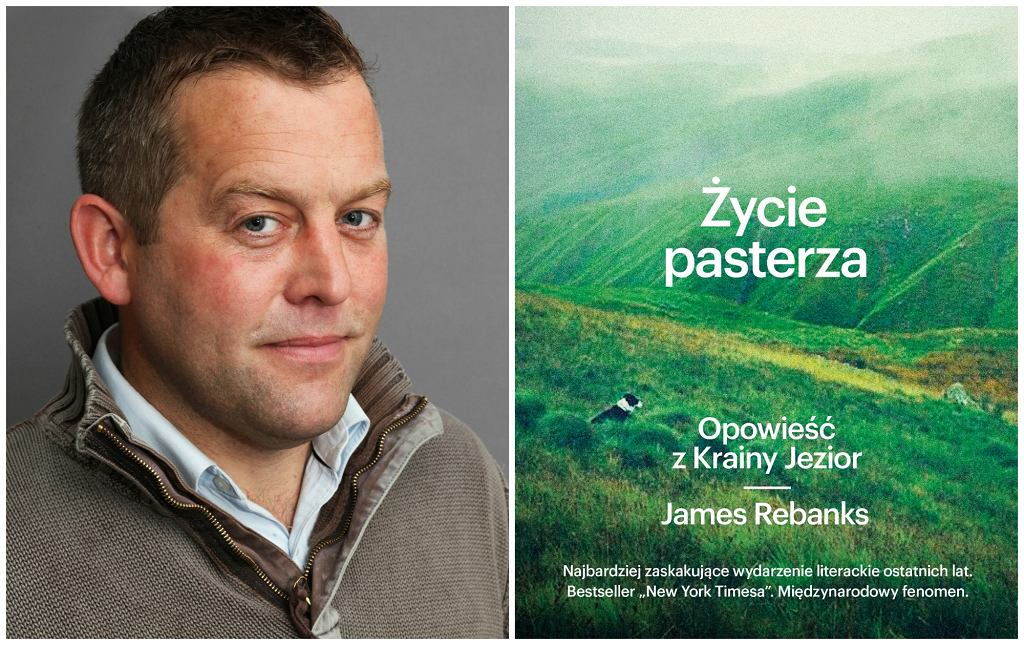 Książka Jamesa Rebanksa ''Życie pasterza...'' w Polsce ukazała się nakładem Wydawnictwa Znak (fot. materiały prasowe)