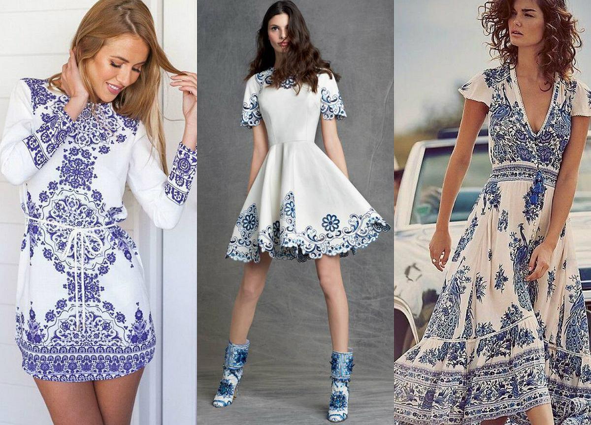 163d132f32 Sukienka jak porcelana - najnowszy trend