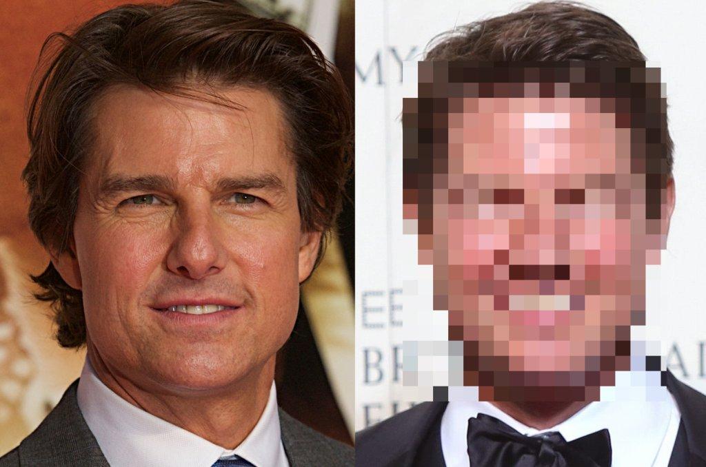 Zdjęcie numer 1 w galerii - Tom Cruise już tak nie wygląda.