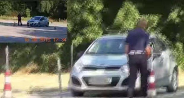 Dziennik Łódzki: Naczelnik drogówki dorabia jako instruktor nauki jazdy. I to w czasie służby [WIDEO]