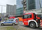 Pożar na budowie Q22 w Warszawie. Sytuacja opanowana, prace wznowione