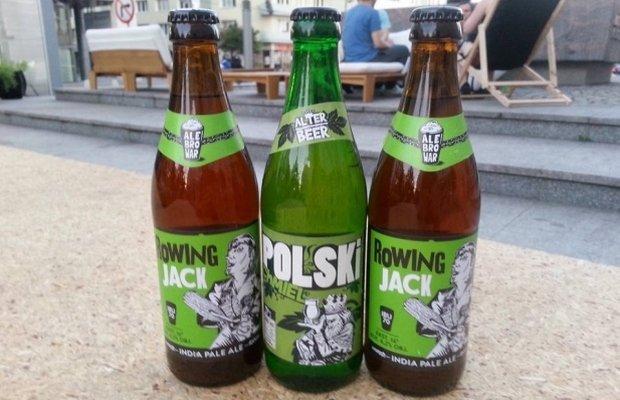 Butelki AleBrowar i Alter Beer mają podobny wygląd