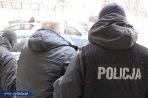 """""""Siniak"""", cz�onek brutalnego gangu, zatrzymany na pl. Konstytucji"""