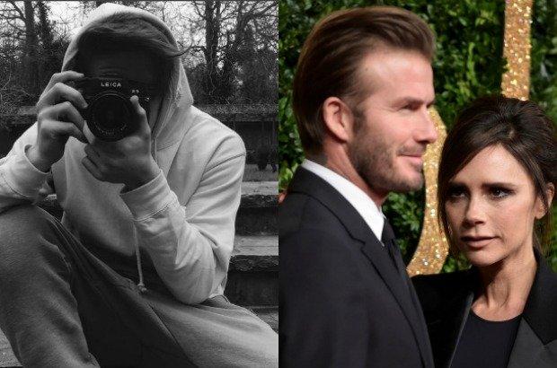 Brooklyn Beckham, David Beckham, Victoria Beckham