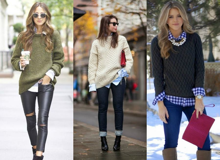 4f5b0ecc79 Stylizacje ze swetrem nie muszą być nudne. Zobacz nasz sposób na sweter!