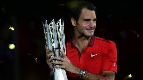 Roger Federer, Szanghaj 2014