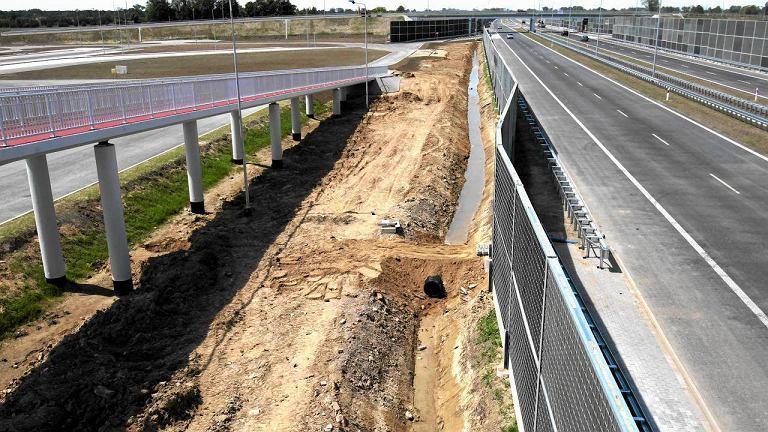 Nowo otwarty odcinek A2 pomiędzy Pruszkowem a Grodziskiem Mazowieckim