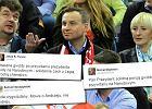 """Duda wygwizdany na Narodowym przez kibiców Legii i Lecha. """"Nikt tak nie jednoczy Polaków jak PiS"""""""