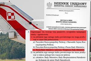 Burza wokół lotu polskiej delegacji z Londynu. Rząd: Instrukcja HEAD nie została złamana