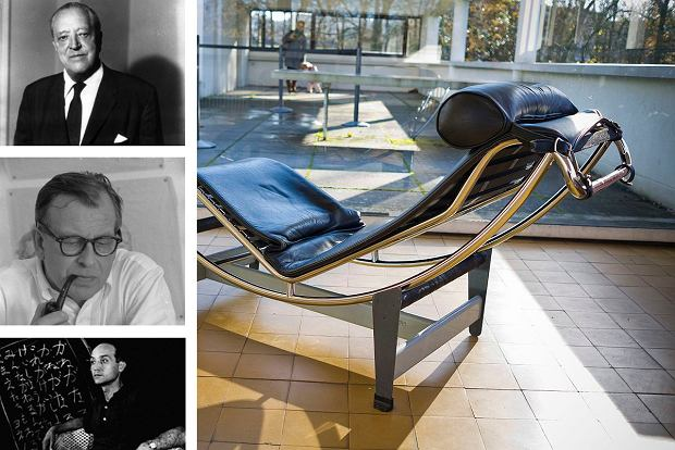 Mies van der Rohe, 4.1 Eero Saarinen, Isamu Noguchi oraz leżanka Le Corbusiera