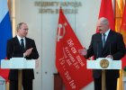 """Putin z wizyt� na Bia�orusi. �ukaszenka og�asza: """"Zawsze b�dziemy razem, b�dziemy zwyci�a�"""""""