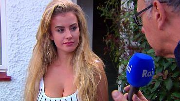 Brytyjska modelka Chloe Ayling, która twierdzi, że została porwana i miała zostać sprzedana na aukcji w Dark Webie