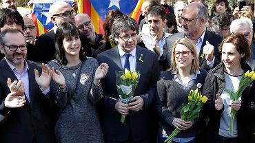 Carles Puigdemont w Niemczech