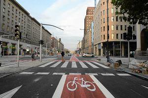 W Warszawie przyb�dzie 60 km nowych tras rowerowych