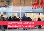 """Balmain dla H&M: sza� pod sklepem na Marsza�kowskiej. """"Jestem tu od 3 rano, ale niekt�rzy stoj� od wczoraj"""" [WIDEO]"""