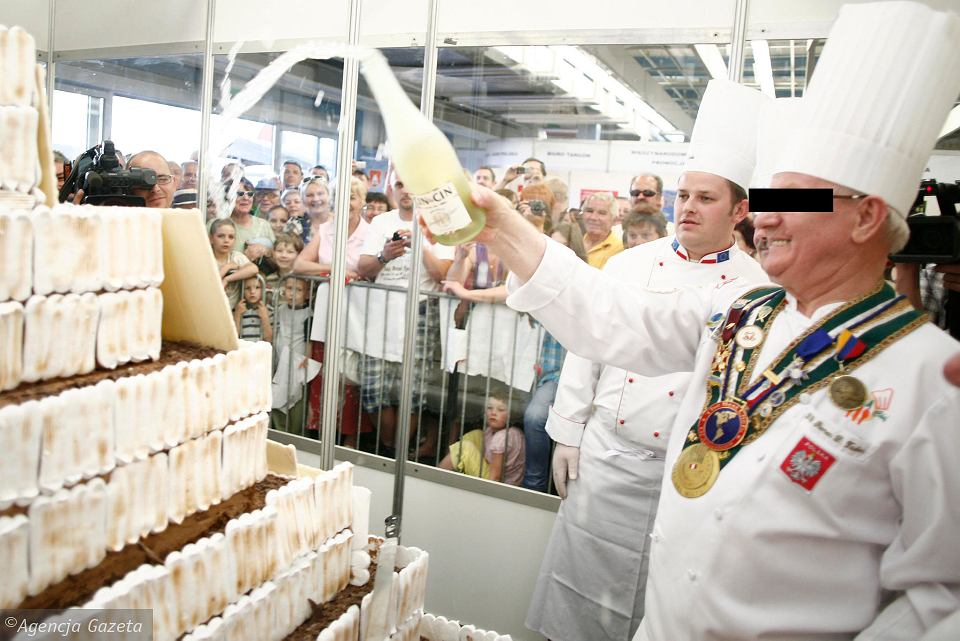 Maj 2011 r. Roman T. (z prawej) podczas targów Ekogala w Rzeszowie