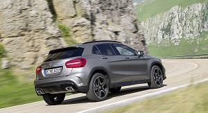 Mercedes GLA - wideo