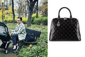 b7459c95130a3 Anna Wendzikowska z torebką polskiej marki. Teraz ten model kosztuje dużo  taniej!