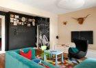 Pokój dzienny dla rodziny z dziećmi