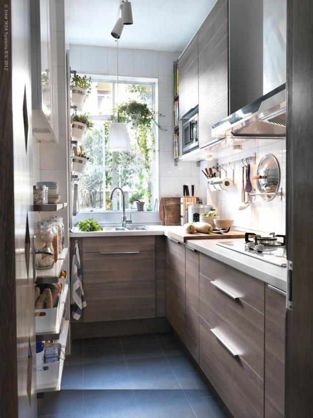 Mała kuchnia- duży problem