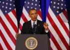 Barack Obama podczas dzisiejszej konferencji