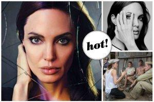 """Angelina Jolie nie ma mened�era, nie ma specjalisty od PR, sama kieruje swoj� karier� i swoim �yciem. """"Nigdy nie ok�ama�abym rodziny. Najszcz�liwsza jestem, b�d�c mam�"""" - m�wi w """"The Hollywood Reporter""""[ZDJ�CIA]"""
